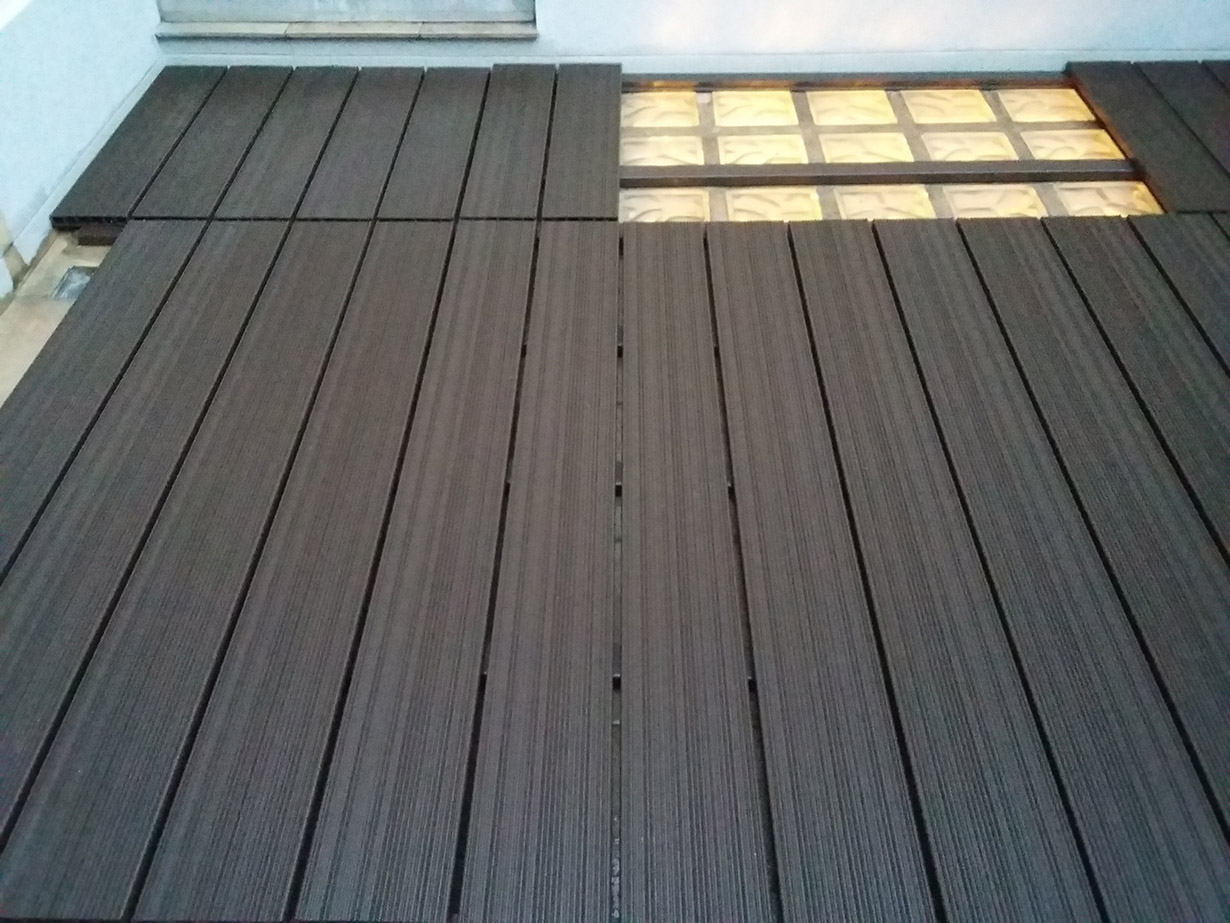 suelos de composite para terrazas