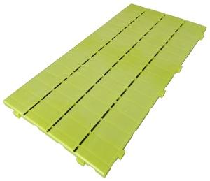 Loseta de tablas verde