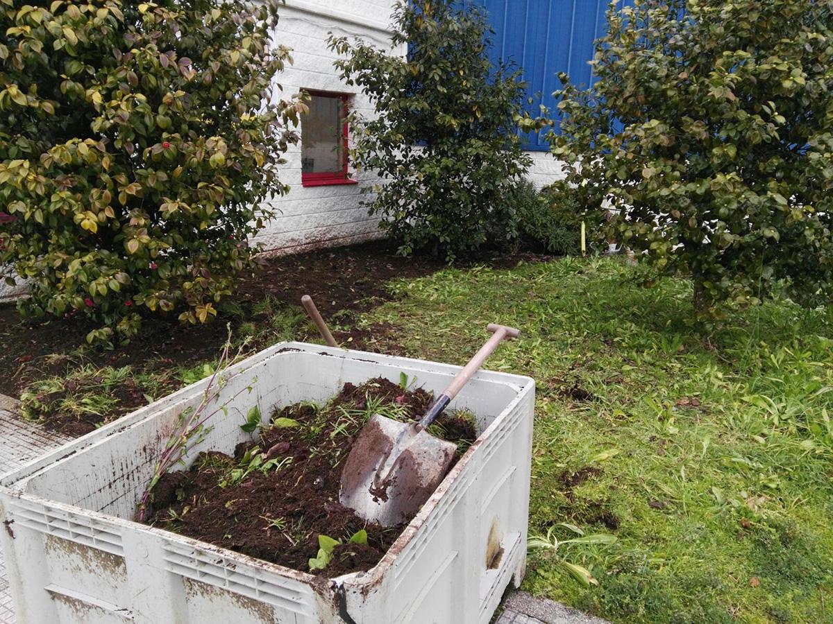 retirada de capa vegetal y nivelacin de superficie