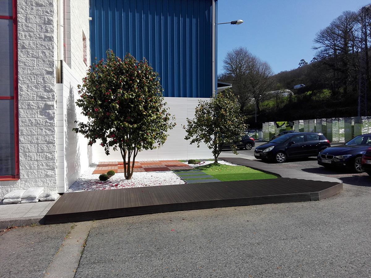 Suelo de exterior para jardin moderno suelos de pl stico - Suelo sintetico exterior ...