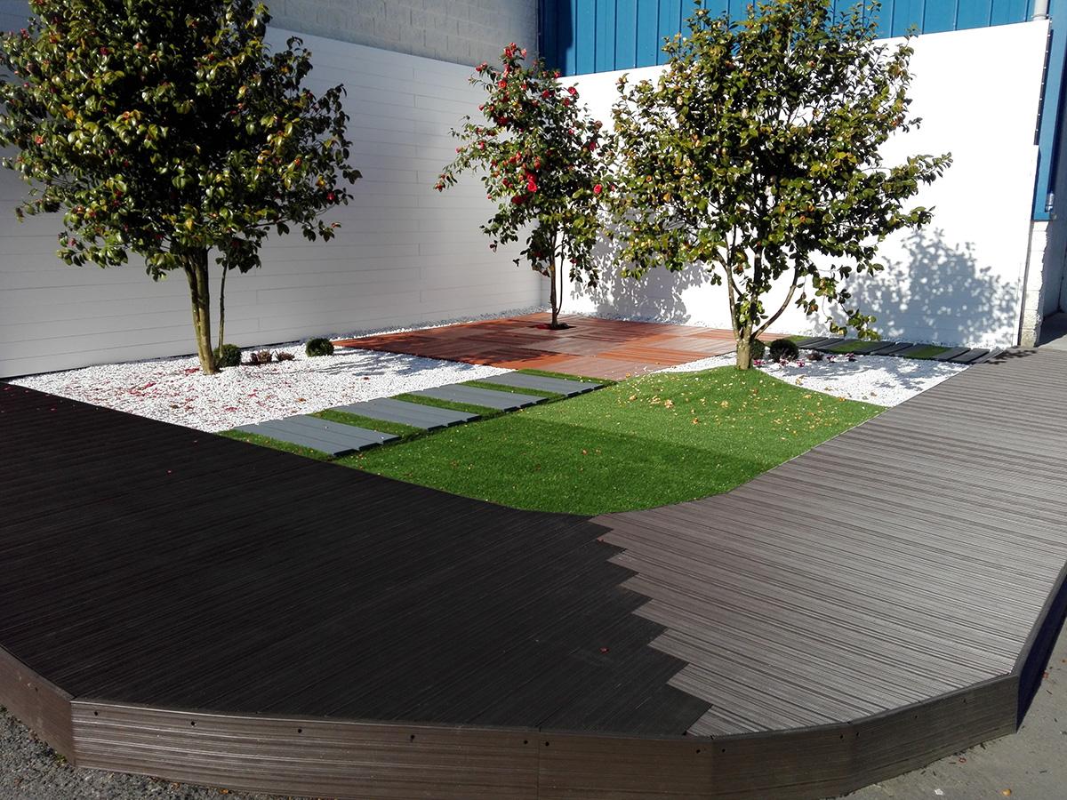 Suelos para jardin sin obra free suelo de barro mejora for Nivelar suelo terraza sin obra